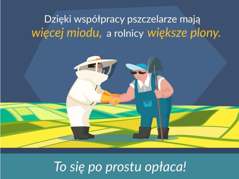 Nagradzamy najlepszą współpracę rolnika z pszczelarzem!